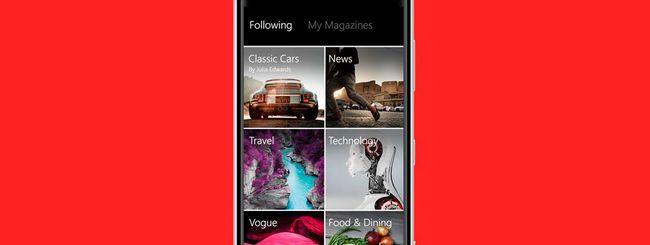 Flipboard arriva su Windows Phone 8.1