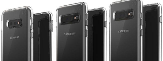 Galaxy S10, nuove immagini degli smartphone