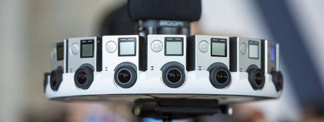 GoPro Odyssey, realtà virtuale con 16 videocamere