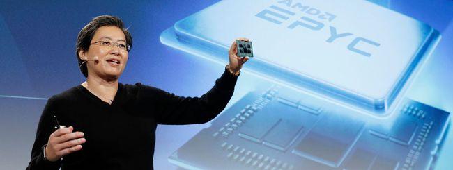 AMD EPYC e Radeon, CPU e GPU a 7 nanometri