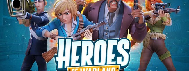Heroes of Warland arriva su AppGallery di Huawei