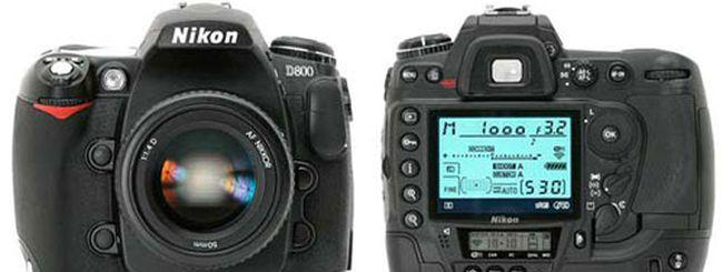 Nikon D800, secondo aggiornamento firmware in arrivo