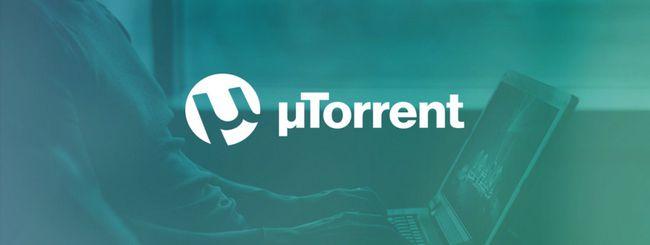 uTorrent entra nel browser