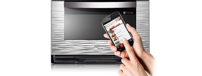 Android in cucina, con il nuovo forno Samsung