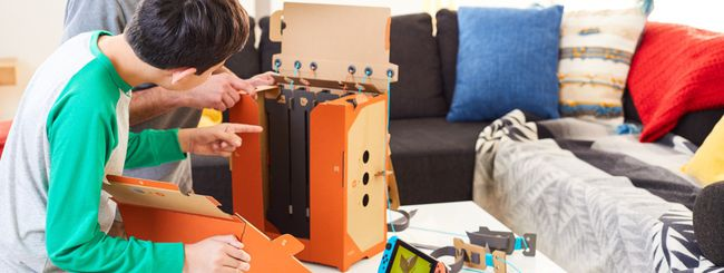 Nintendo Labo, ecco come funzionano i Kit