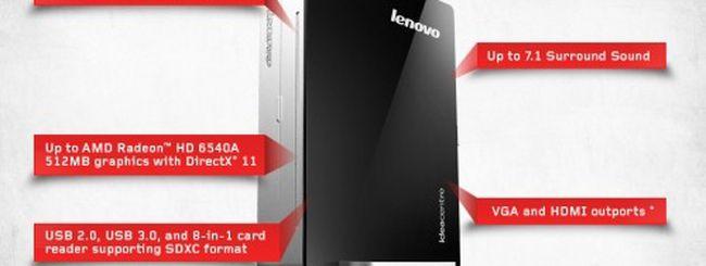 Lenovo Q180: il PC desktop più piccolo del mondo