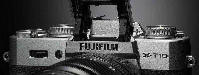 Fujifilm X-T10, nuova mirrorless da 16,3 megapixel