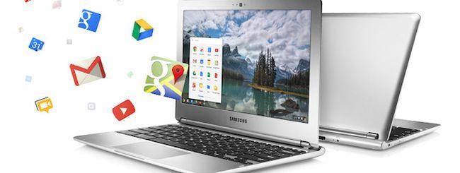 Google Chromebook minaccia iPad nel settore Educational