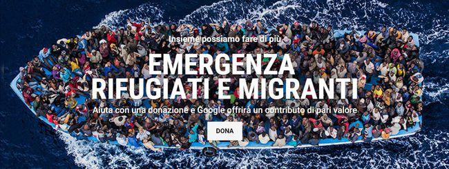 Google in aiuto di rifugiati e migranti