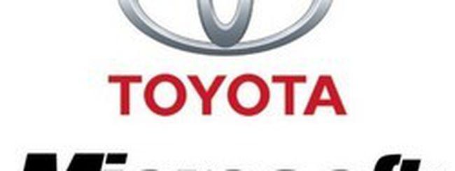 Microsoft e Toyota per l'auto del futuro