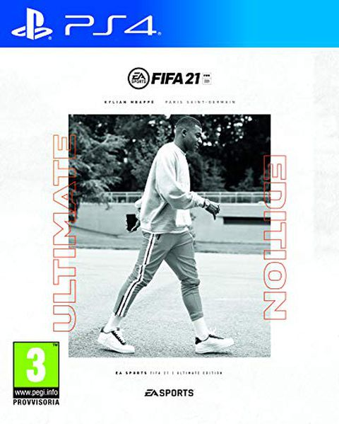 FIFA 21 PlayStation 4 Ultimate Ed., include upgrade per PS5