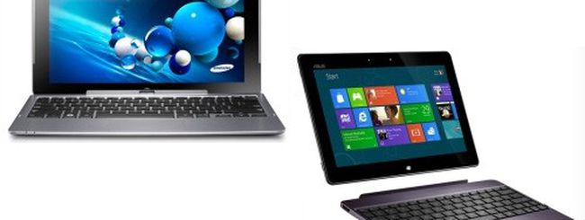 Samsung Ativ vs. ASUS Vivo, tablet Windows 8 e RT