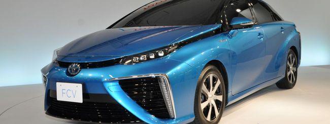 Toyota annuncia il prezzo dell'auto a idrogeno