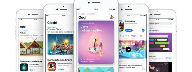 App Store, cala il numero di app per la prima volta