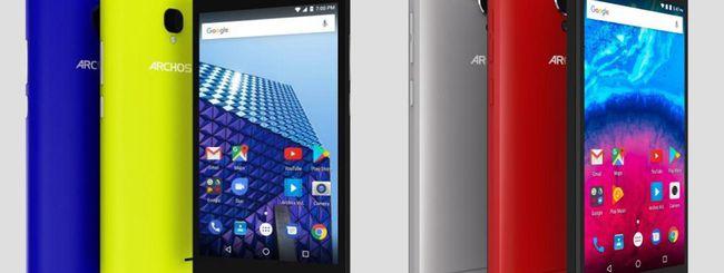 Archos Access e Core, nuovi smartphone economici