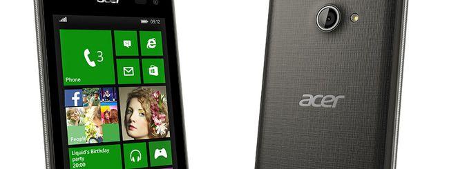 Acer annuncia quattro smartphone e una smart band