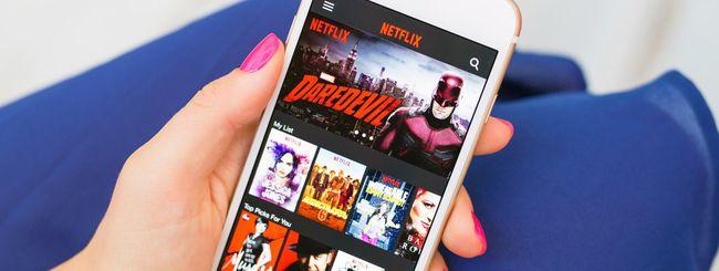 Netflix: arriva il download per la visione offline