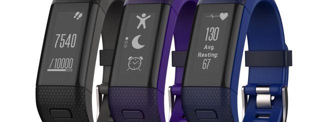Garmin vivosmart HR+, nuovo indossabile con GPS