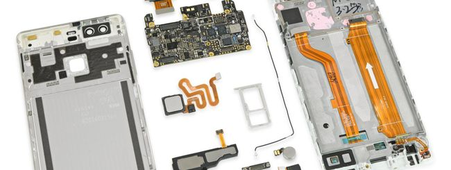 Huawei P9 è riparabile, ma serve il pentalobo