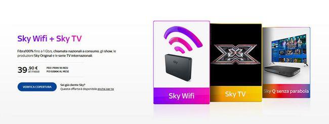 Sky Wifi: il prezzo per i non abbonati a SKY