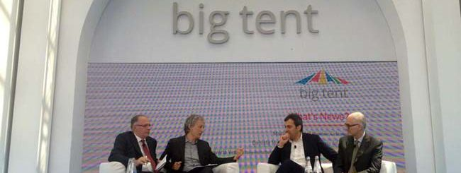 Big Tent: Google mette tutti sotto la tenda