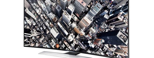 Samsung, arriva il TV curvo Ultra HD HU8500