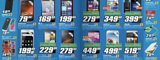 Volantino Saturn: Sony Xperia Z a 399 euro