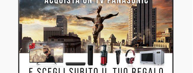 Panasonic, tanti regali acquistando una nuova TV