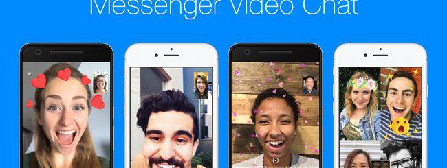 Facebook Messenger: Attivare Reazioni e Filtri nelle video-conferenze