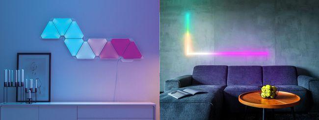 Illuminazione Smart e decorativa: Nanoleaf e LIFX