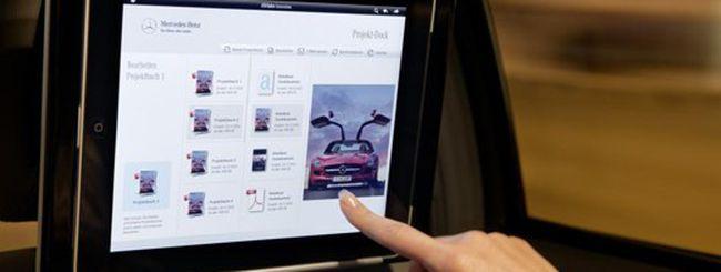 Metti un iPad sulla tua Mercedes