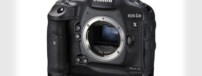 """Canon 1D X Mark III: rumors """"scatenati"""""""