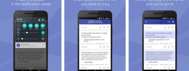 Come copiare testo da Facebook e tutte le altre applicazioni con Universal Copy