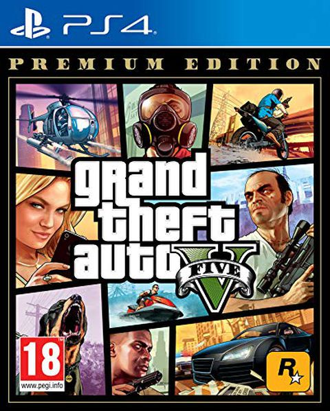Grand Theft Auto V - Premium Edition - PlayStation 4
