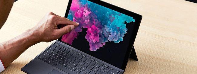 Problemi alla batteria per Surface Pro 5 e Pro 6