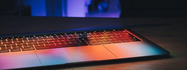 MacBook Air: stessa tastiera della fascia alta Pro