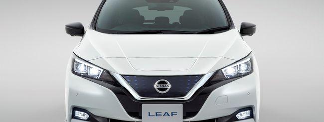 La nuova Nissan Leaf sfida la Tesla Model 3