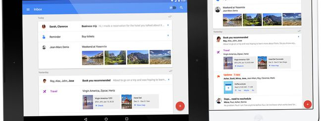 Google Inbox debutta su iPad, Firefox e Safari