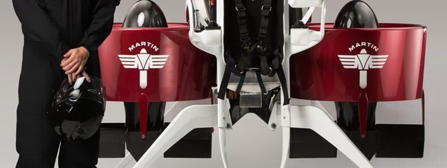 Il jetpack da 150.000 dollari di Martin Aircraft