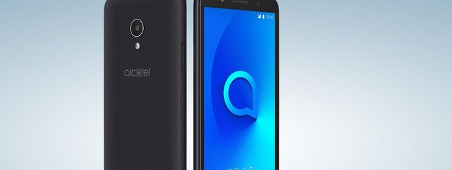 Alcatel 1X con Android Go arriva in Italia
