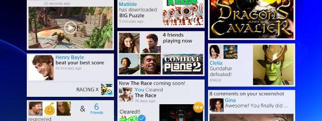 PS4, Sony ne mostra l'interfaccia utente