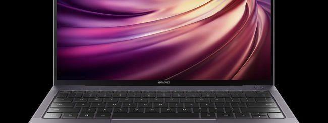 Huawei MateBook X Pro 2019 arriva in Italia
