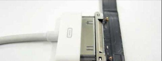 iPad 3 più sottile a giudicare dal nuovo connettore