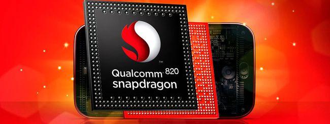 Qualcomm annuncia lo Snapdragon 820