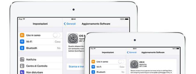 iOS 8.0.2 ora disponibile per il download