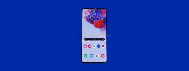 Samsung Galaxy S20+, video e nuovi dettagli