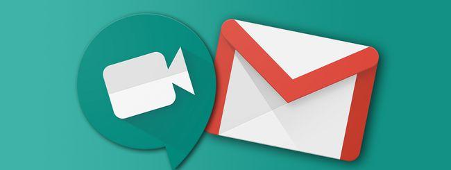 Google Meet, come nascondere i pulsanti in Gmail