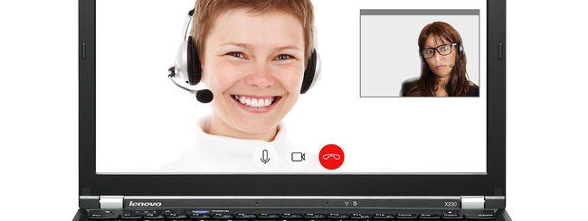 skype cambiare sfondo videochiamate