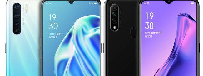 Oppo A91 e A8, nuovi smartphone economici