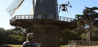 Moto X su drone